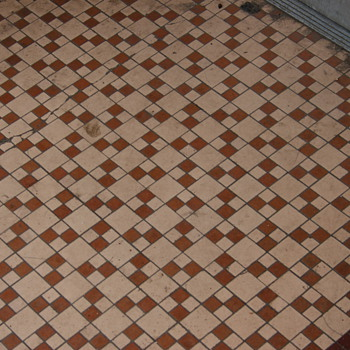 Tile Mosaic Sidewalks, Wilkes-Barre, PA - Art Pottery