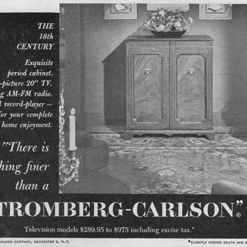 1951 - Stromberg-Carlson Advertisement - Advertising