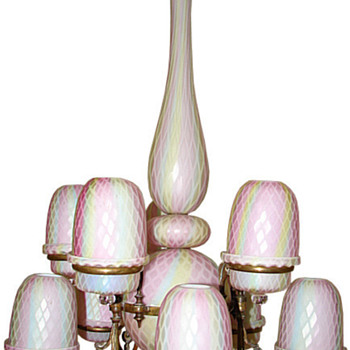Fairy Lamp Chandeliers - Art Glass