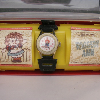 Raggedy Ann - Wristwatches