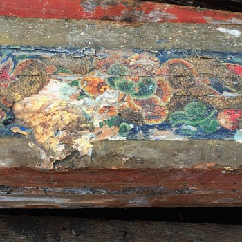 Beams from a Chinese Temple, maybe? - Folk Art