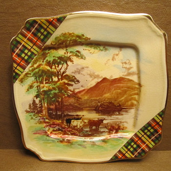 "Grimwades Plate 6"" by Royal Winton of England Mark ca 1945-50"
