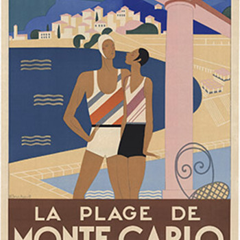 Monte Carlo Art Deco Original - Posters and Prints