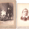 Victor John Lewis, &#039;Lord Hope&#039; 1892 cabinet card