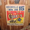 mills bros three ring circus poster