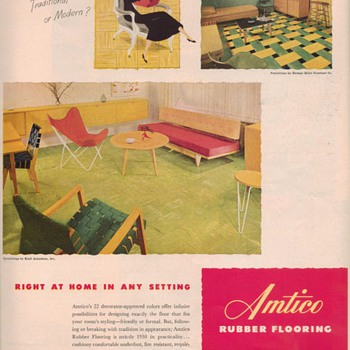 1950 Amtico Advertisements