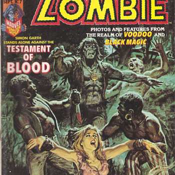 Tales Of the Zombie - Comic Books