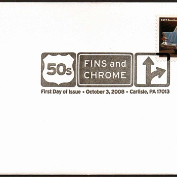 2008 - '57 Pontiac Safari Stamp First Day Cover