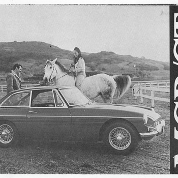 1968 MG/MGB Sales Brochure - Advertising