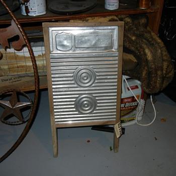 Vintage scrub board