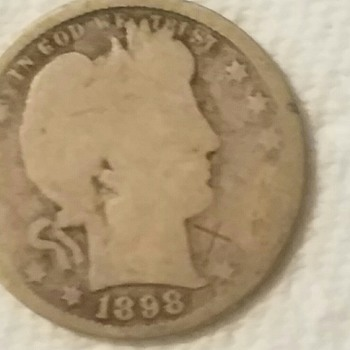 US Coin....image rubbed almost away on one side