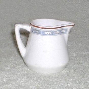 Onondaga Syracuse China  FEC RR creamer - China and Dinnerware