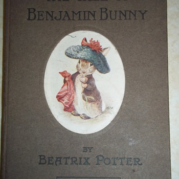 """The Tale of Benjamin Bunny"" 1904 by Beatrix Potter (1st Edition, I think!)"