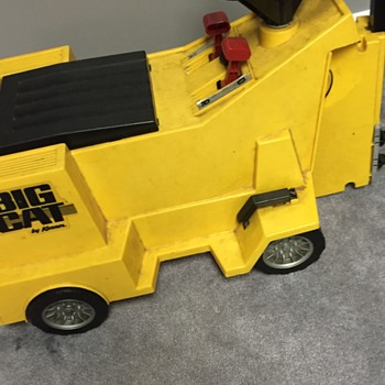 Kenner Big Kat Fork Lift Rare?