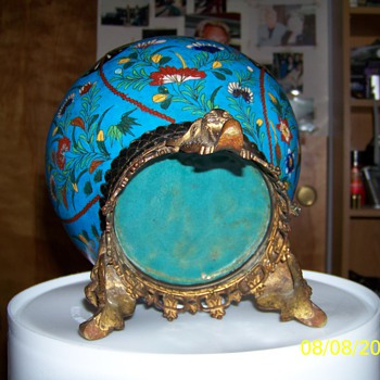 Antique Cloisonne bowl  - Asian