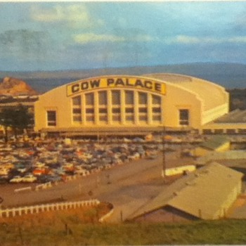 Cow Palace Postcard