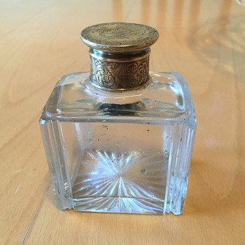 London 1836 SM.GR Silver Topped Bottle Sampson Mordan & Gabriel Riddle