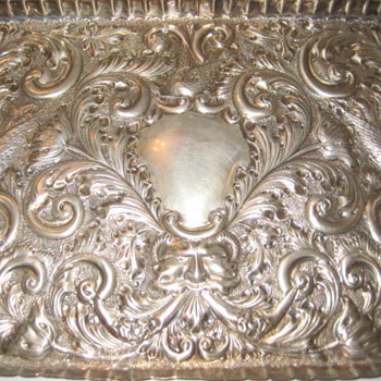 Silver tray - Sterling Silver