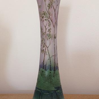Legras' factory vase c1910