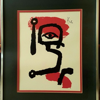 """The Drummer Boy"" print by Paul Klee"