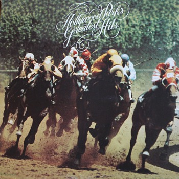 &quot;Hollywood Park&#039;s Greatest Hits&quot; Record - Records
