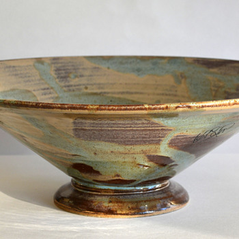 MazAmar Art Pottery Bowl - Art Pottery