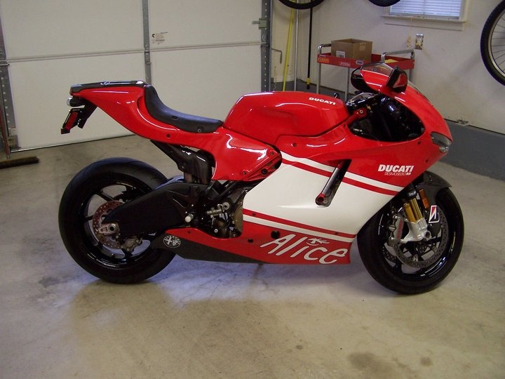 Ducati In The Movie Wall Street