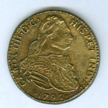 Spanish 1792 forgery
