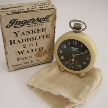 Ingersoll 2 in 1 Watch - Pocket Watches