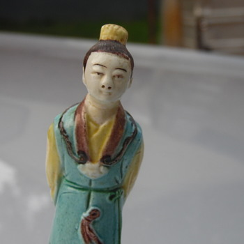 Antique Chinese Figures Statues - Asian