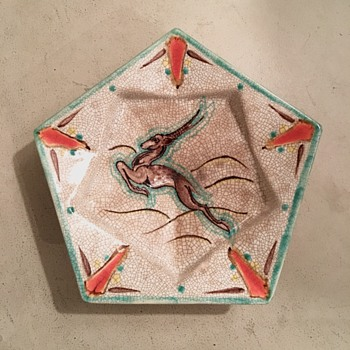Art deco astray by Leen Muller? - Pottery