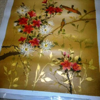 Asian Painting On Canvas - Asian