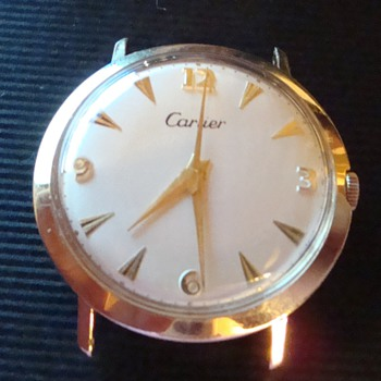 Cartier ....  J. Schulz Movement 17 Jwl 14k - Wristwatches