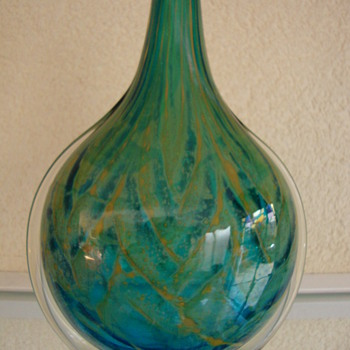 mdina glass art vase - Art Glass