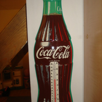 Vintage Coca Cola Thermometer - Coca-Cola
