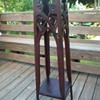 Hand Carved Plant Stand (Very Tall)