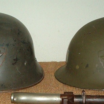 "Swedish Model 1921 / 18 ""high dome"" & M21 / 16 ""low dome"" - Military and Wartime"