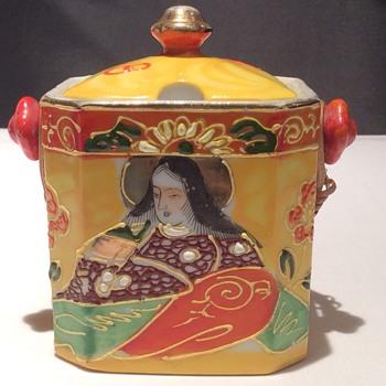 Japanese condiment pot - Asian