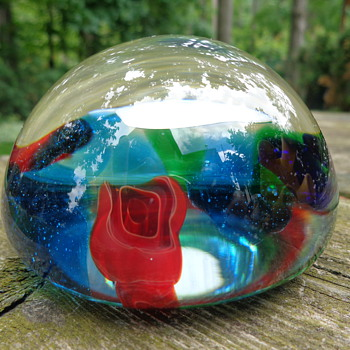 Murano Paperweight - Art Glass