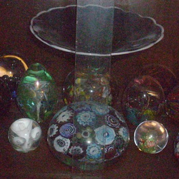 My first collection, paperweights.