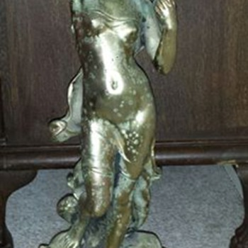 """La Perle"" casting by Hippolyte Francois Moreau....  - Figurines"