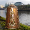 ART NOUVEAU COPPER CHOCOLATE JUG