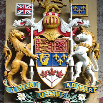 The Coat of Arms of Canada