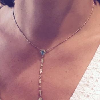 Vintage diamond necklace - Fine Jewelry
