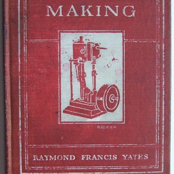 Great 1927 copy of &quot;Model Making&quot; by Raymond Yates - Books