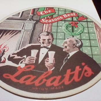 Labatt's Beer Coaster