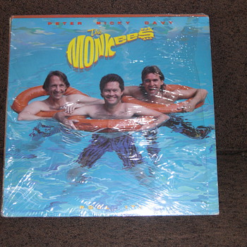"YEP! IT'S MORE OF ""THE MONKEES"" RECORD COLLECTION"
