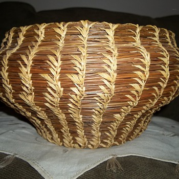 Coushatta Woven Basket