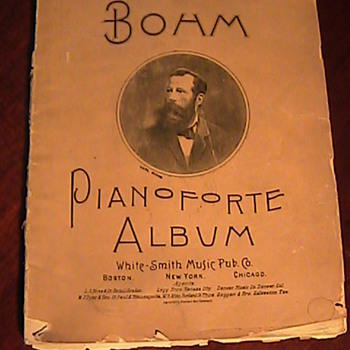 Todays Charity Shop Find! Bohm Piano Forte Album 1892