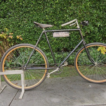 steve mcqueen vintage silver king bicycle - Sporting Goods